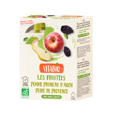 Gourde fruits pomme de france pruneau d'agen poire (Vitabio)
