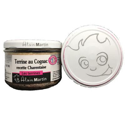 Alain martin terrine au cognac recette charentaise 180g (Alain martin)