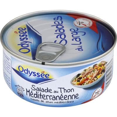 Salade de riz au thon et aux légumes (Odyssee)