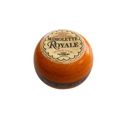 Mimolette royale vieille 2.9 kg, sonde d'or, origine hollande, lait pasteurisé de vache (Sonde d'or)