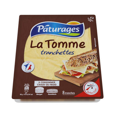Fromage au lait pasteurisé (Paturages)