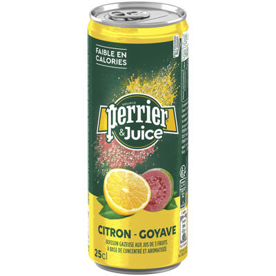 Perrier & juice citron goyave 25cl (Perrier)