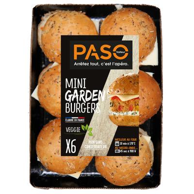 6 mini garden burger 270g (Paso)