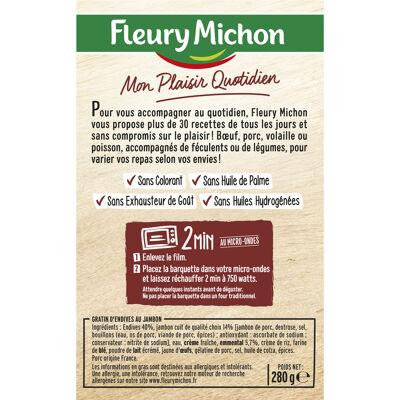 Gratin d'endives au jambon (Fleury michon)