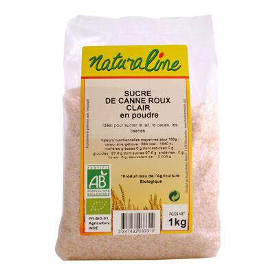 Sucre de canne roux clair bio 500 g (Naturaline)