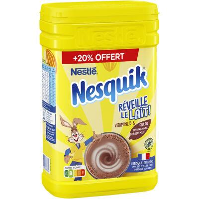 Nesquik poudre cacaotée boîte 1kg + 20% offert (Nesquik)