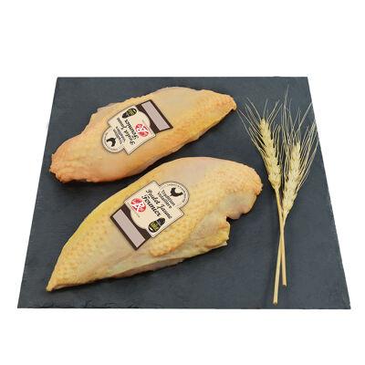 Filet poulet jaune avec peau lr nu tradition volaillere de loue (Tradition volaillere de loue)