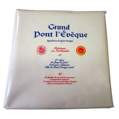 Grand pont l'evêque au lait pasteurisé 1.5kg (Nobrand)