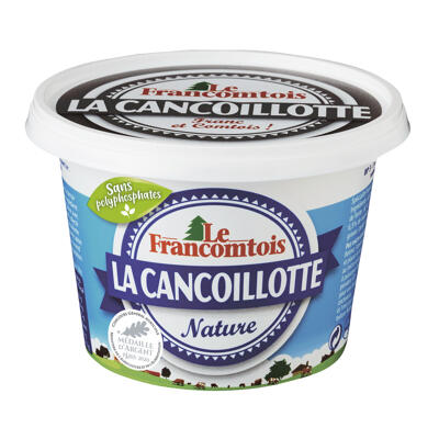 Cancoillotte nature 250g marque le francomtois (Le francomtois)