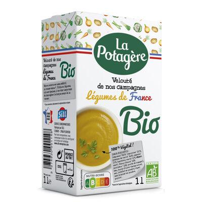 Velouté légumes de nos campagnes bio 1l (La potagère)