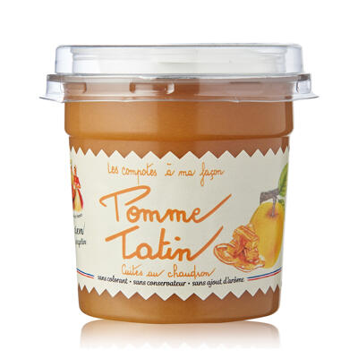 Specialite pomme tatin 140g snacking dome et cuillere (Les recettes cuites au chaudron)