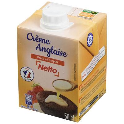 Crème anglaise prête à l'emploi netto (Netto)