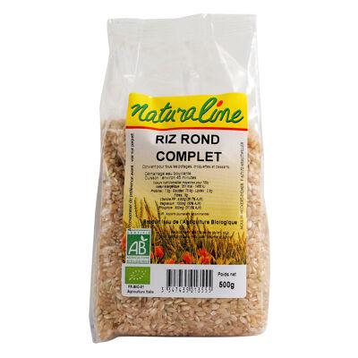 Riz rond complet 500 g (Naturaline)