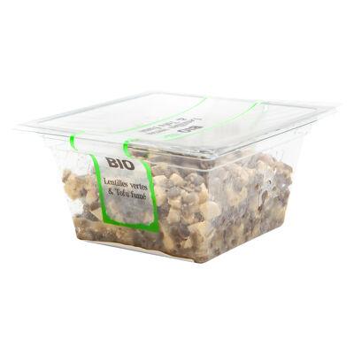 Salade de lentilles et tofu fume bio 200g (Brindelices)