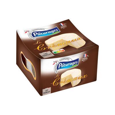 Fromage à pâte molle au lait de vache pasteurisé et à la crème pasteurisée (Paturages)