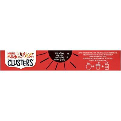 Clusters crunchy choco barres de céréales 4x35g, 140g (Nestle)