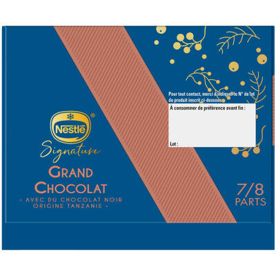 Nestle signature buche grand chocolat 479gr (Nestle)