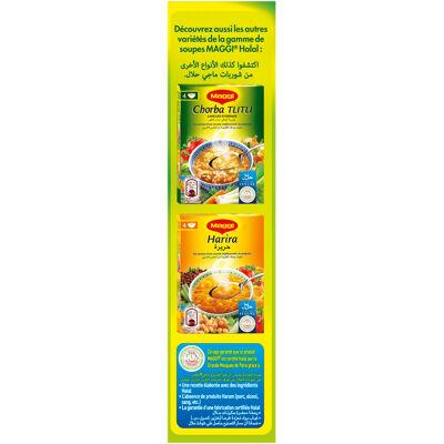 Maggi soupe déshydratée halal chorba 110g en boite (Maggi)