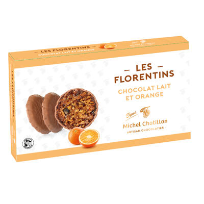 Florentins orange / chocolat lait (Chatillon)
