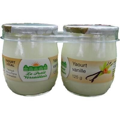 Yaourt vanille (Le petit versaillais)