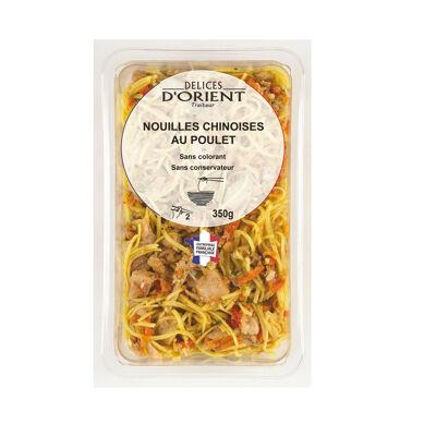 Nouilles chinoises au poulet 350g (Délices d'orient)