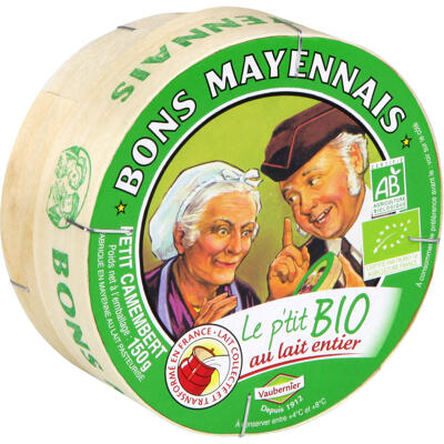 Cam. p'tit bio bons mayennais 150g (Bons mayennais)