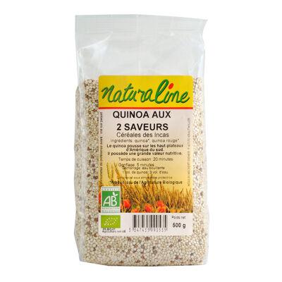 Quinoa aux deux saveurs bio 250 g (Naturaline)