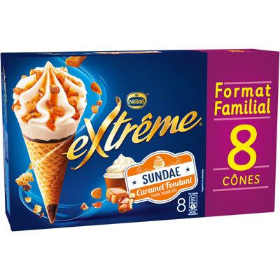 Extrême sundae caramel fondant 8x66g (Extreme)