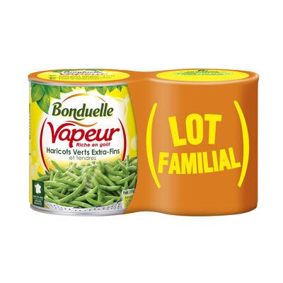 Vapeur haricots verts extra-fins et tendres (Bonduelle)
