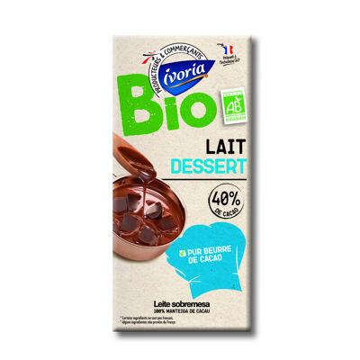 Chocolat au lait dessert bio (Ivoria)