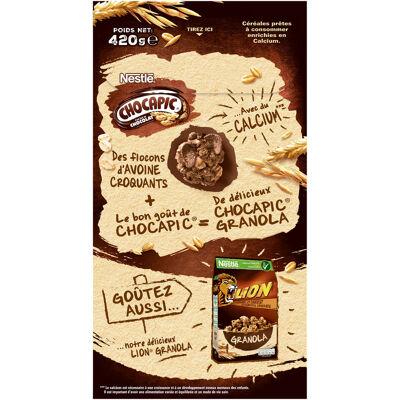 Nestle chocapic crunchy muesli céréales 420g (Nestle)