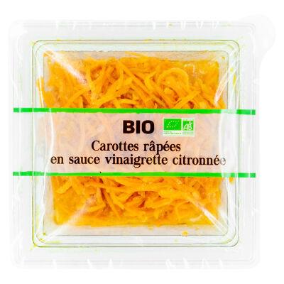 Carottes fraiches rapees bio 200g (Brindelices)