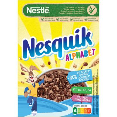 Nestle nesquik alphabet céréales 325g (Nestle)