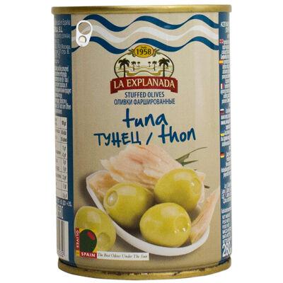 Olives vertes farcies au thon (La explanada)