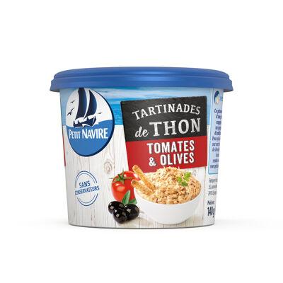 Tartinade thon tomates olives 140g petit navire (Petit navire)