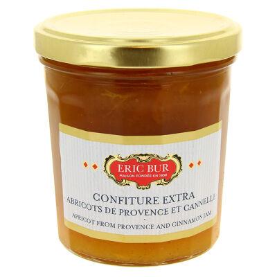 Eric bur confiture extra abricot/cannelle 370g (Eric bur)