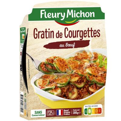 Gratin de courgettes au boeuf (Fleury michon)