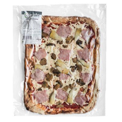 Pizza capricciosa 1kg (Pizza famiglia)