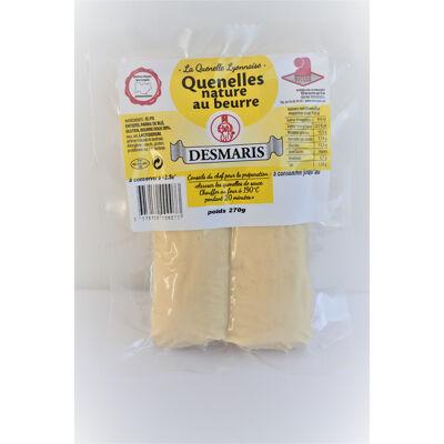 Quenelle au beurre nature 135 gr (Desmaris)