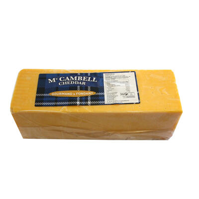Cheddar mild orange, 2.5kg (Mac cambell)
