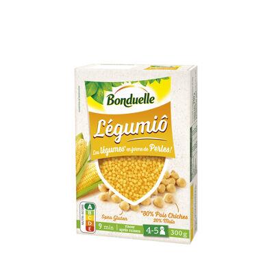 Légumiô pois chiches et maïs en perles (Bonduelle)