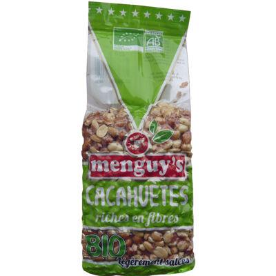Cacahuètes grillées légèrement salées 400 g bio (Menguy's)