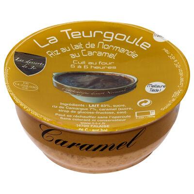 Teurgoule au caramel 750g, le riz au lait de normandie (Les desserts de jo)