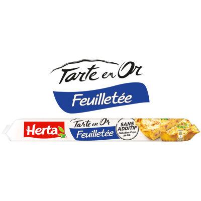 Herta tarte en or pâte feuilletée 230g (Herta)