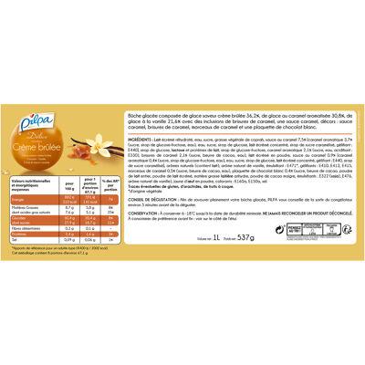 Pilpa buche delice crème brûlée 537grs (Pilpa)