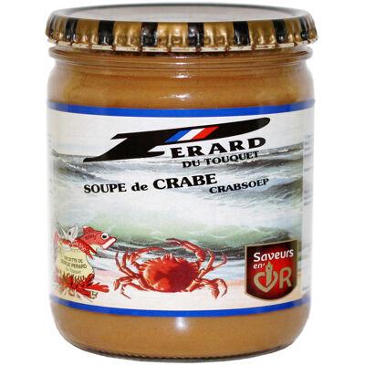 Soupe de crabe 390 g (Pérard)
