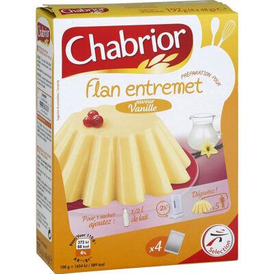 Préparation pour flan entremet saveur vanille (Chabrior)
