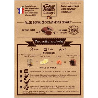 Nestle dessert preparation pour cœurs coulants au chocolat 305g (Nestle)