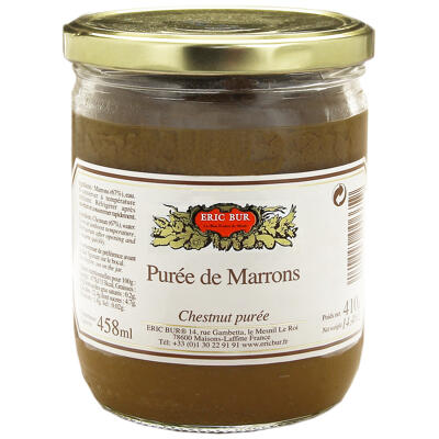 Puree de marrons 410g (Eric bur)