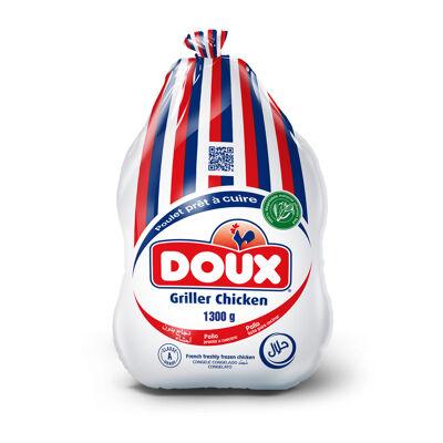 Doux poulet sans abats congele - 1300g (Doux)